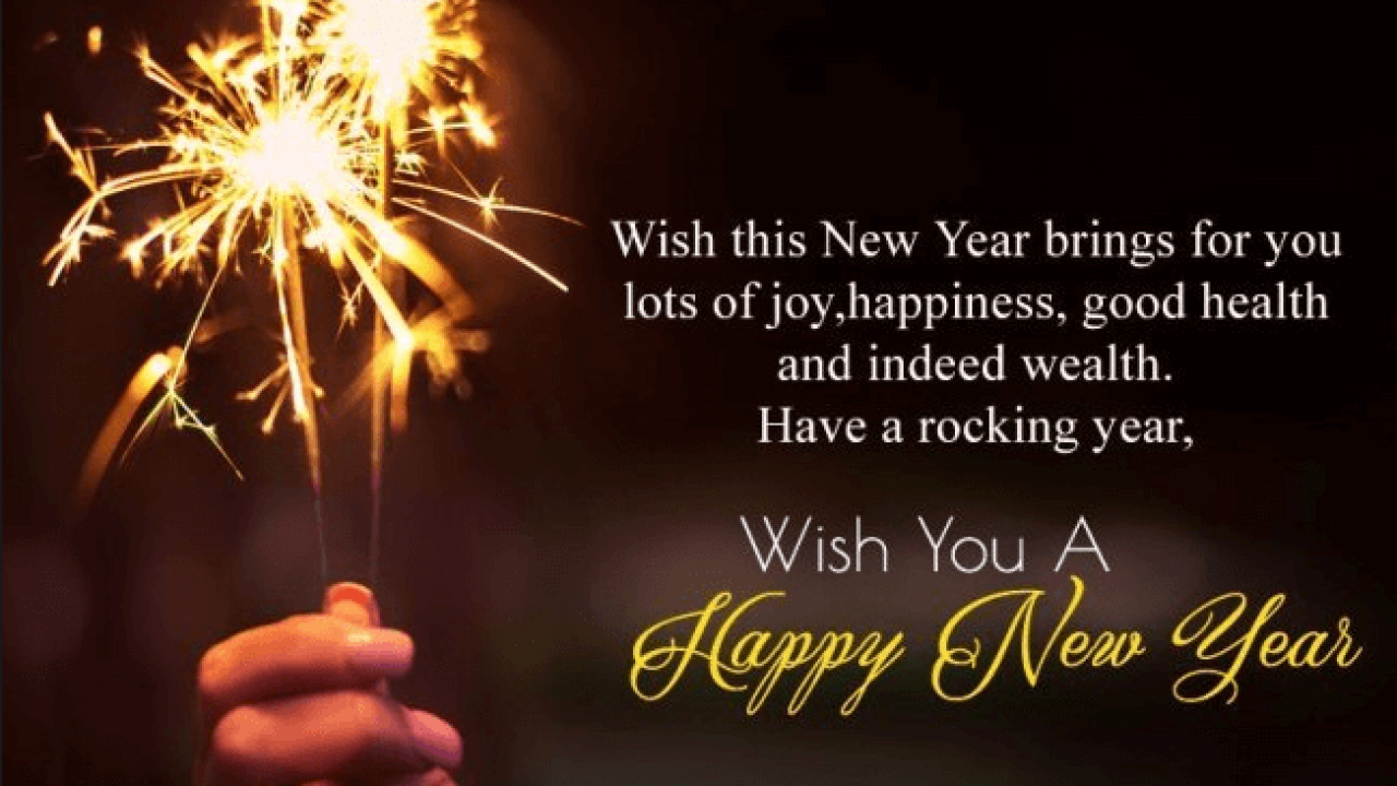 Top 200 Happy New Year Wishes Greetings And Sayings 2021 With Images Events Yard
