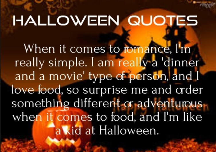 Halloween Quotes And Poems