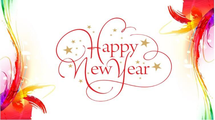 Happy New Year Advance Wallpaper