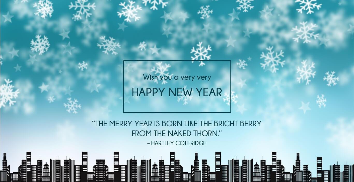 Happy New Year Wallpaper In Advance