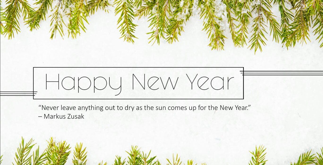 Happy New Year Wallpaper Status