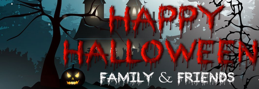 Happy Halloween Family And Friends Facebook Cover