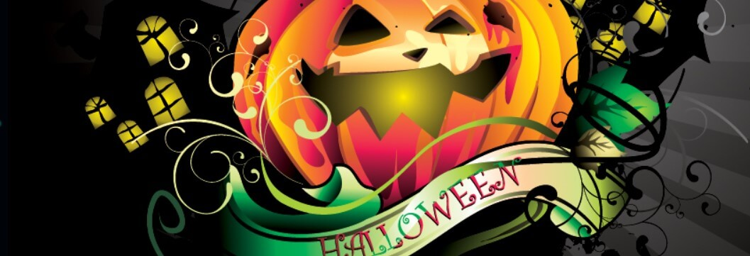 Happy Halloween Pumkin Facebook Cover