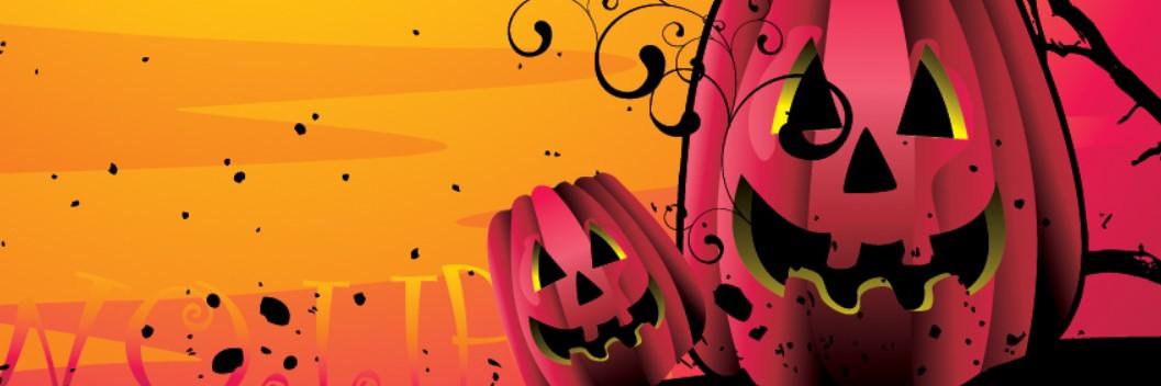 Pumpkins Halloween Facebook Cover