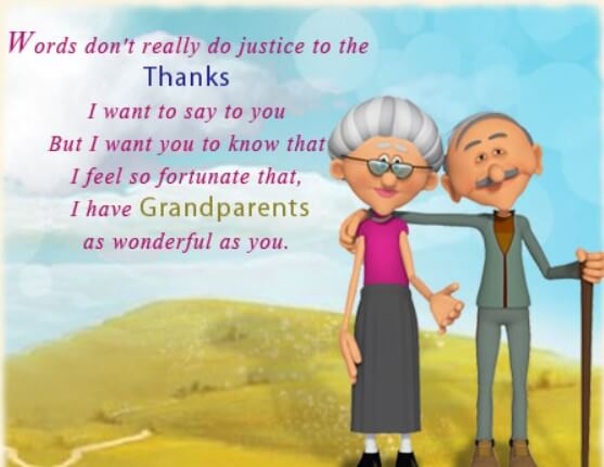 Being Raised By Grandparents Quotes