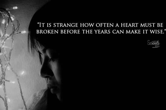 Broken Heart Quotes Sayings
