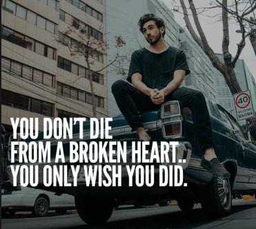 Broken Heart Status