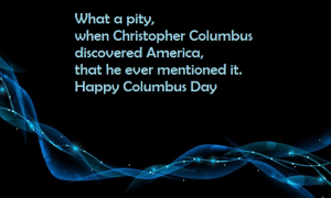 Columbus Day Every Year
