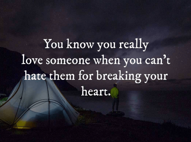 Confession Of Broken Heart Quotes