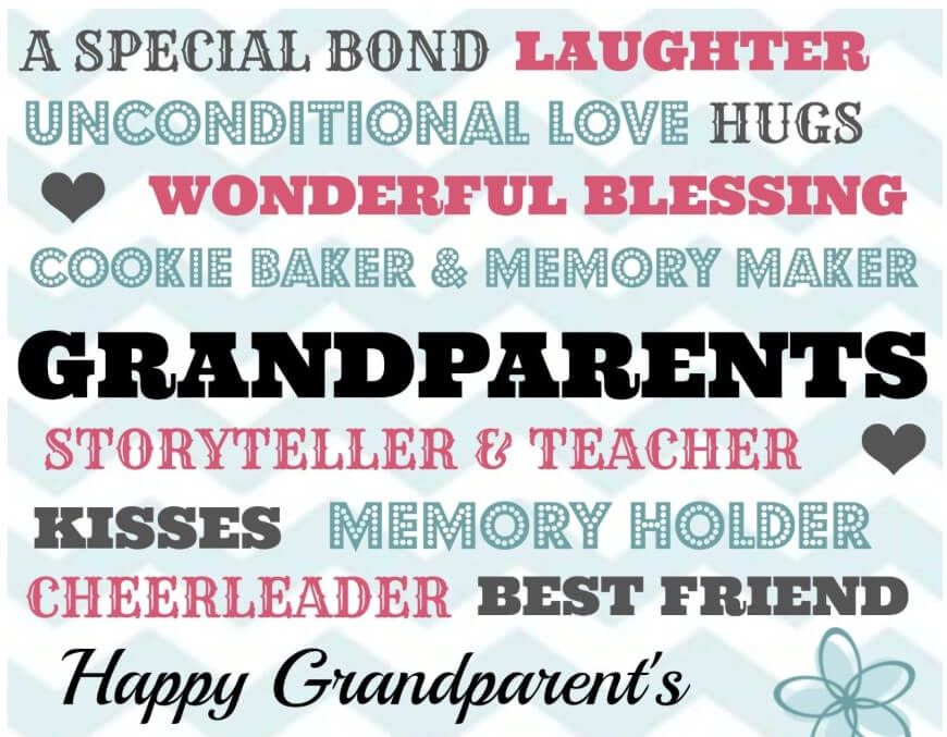 Cute Grandparents Day Poems