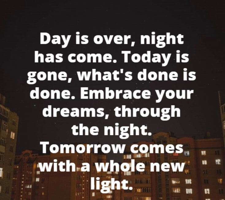 Good Night Quotes Bibl