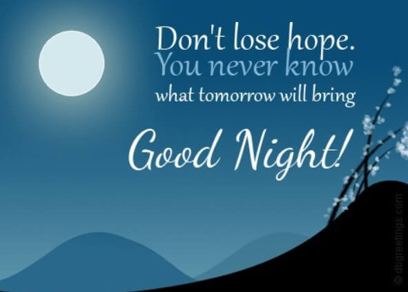 Best 60 Inspirational Good Night Quotes and Wishes - Events Yard