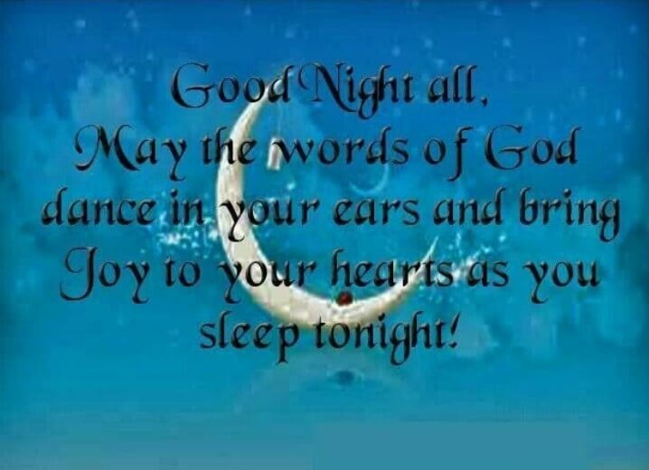 Good Night Quotes English