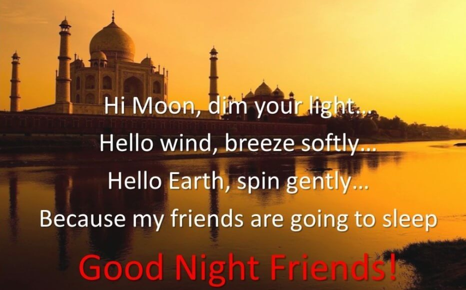 Good Nit Quotes For Friends