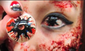 Halloween Eyes Makeup