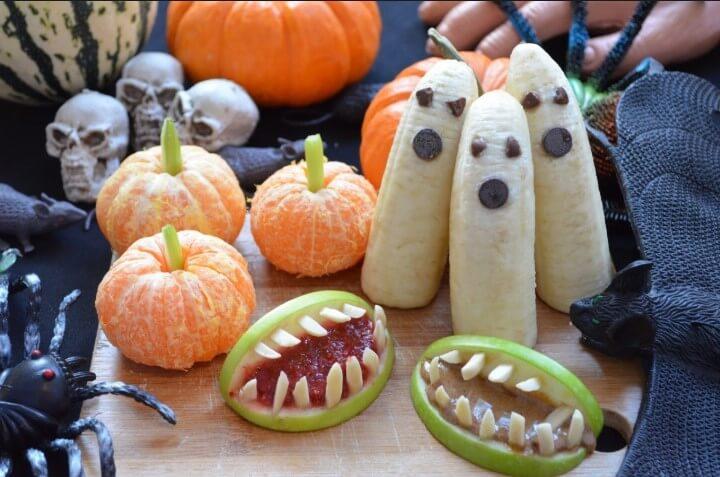 Halloween Food Art
