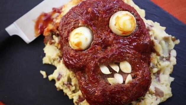 Halloween Food Body Parts