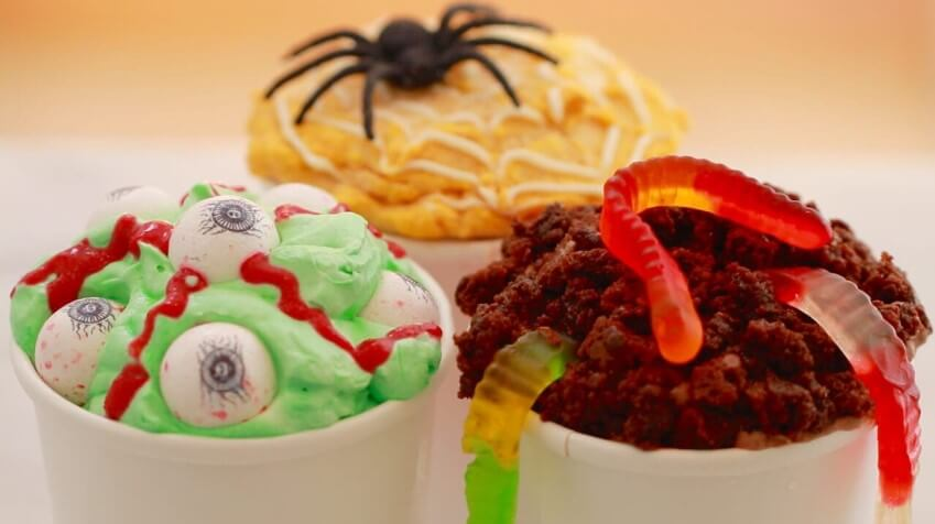 Halloween Recipes Cupcakes