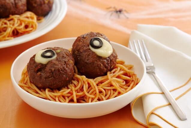 Halloween Recipes Pasta