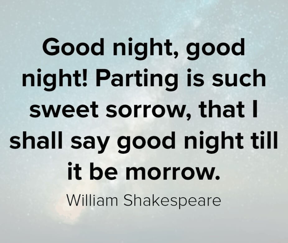 Have A Good Night Quote
