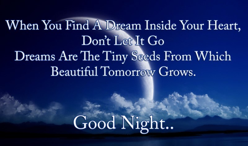 Inspirational Good Night Messages