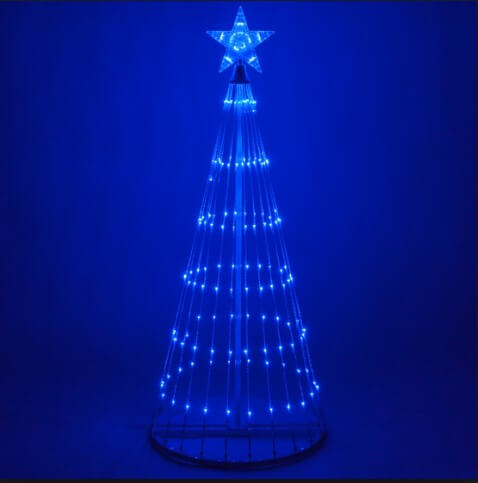 Merry Christmas Wallpaper Blue
