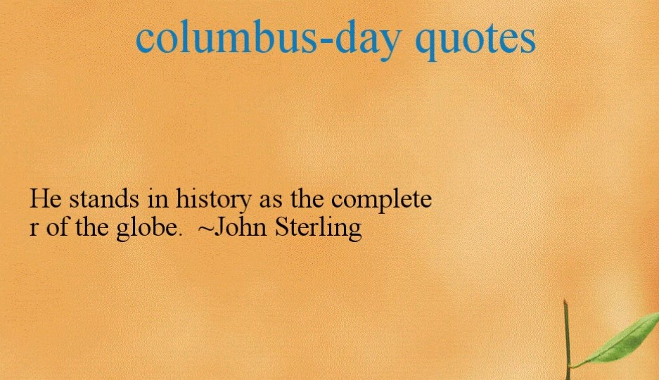 South Park Columbus Day Quotes