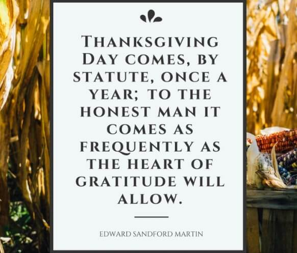 Thanksgiving Day Quotes Goodreads