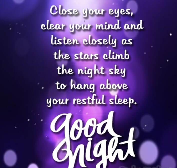 The Best Goodnight Quote