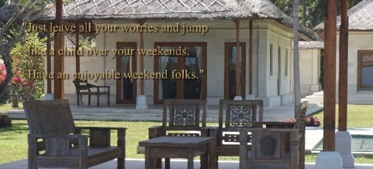 Weekend Quotes About Life