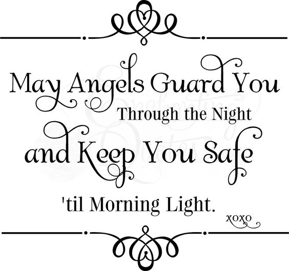 Baby Quote Angels Guard