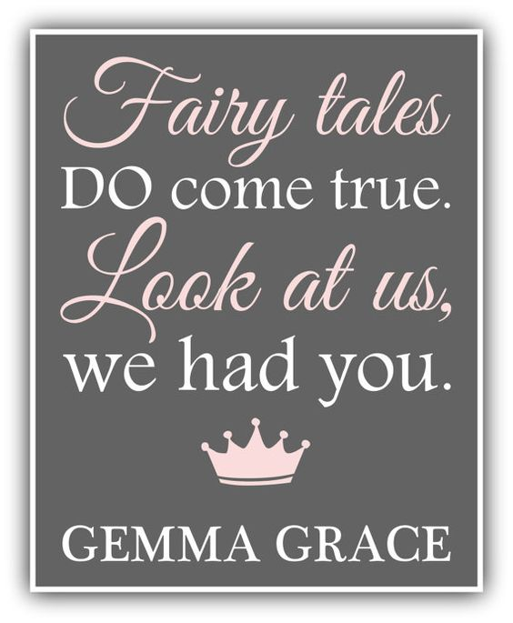 Baby Quote Fairytale