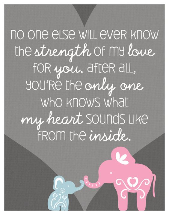 Baby Quote Love Strong
