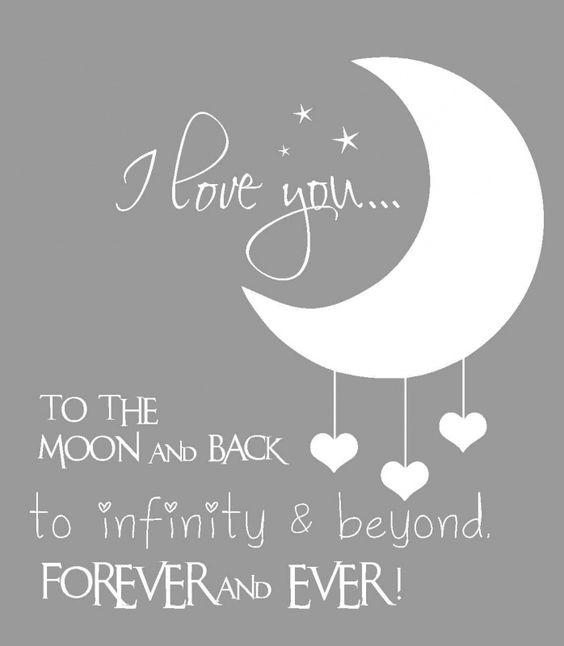 Baby Quote Moon
