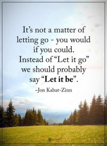 Best Let Go Quote