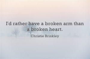 Broken Heart Quote Rather