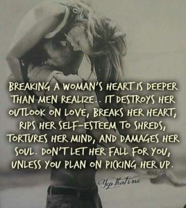 Broken Heart Quote Woman