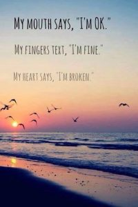 Broken Heart Quotes Mouth