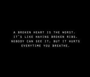 Broken Heart Quotes Worst