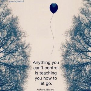 Cant Control Let Go