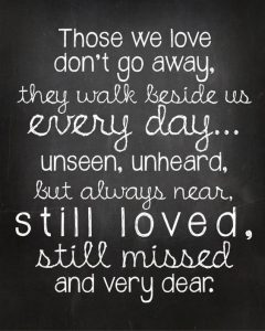 Top 50 Inspirational Quotes Losing Loved One Events Yard
