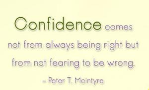 Confidence Develop Quotes