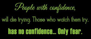 Confidence Quotes In English