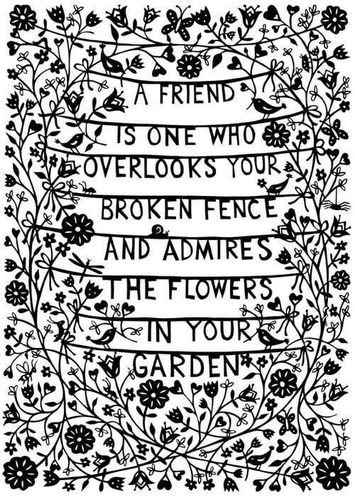 Friend Quote Graden