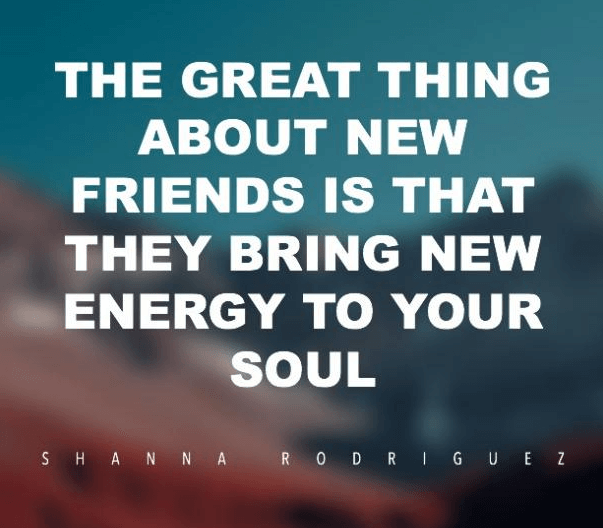 Friends Quote Energy