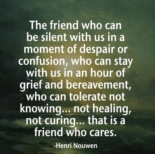 Friends Quote Moment Despair
