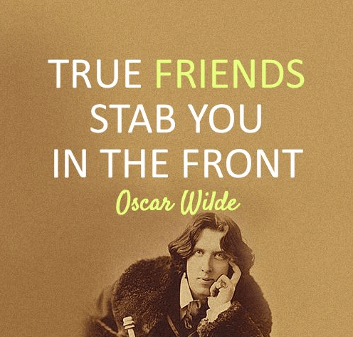Friends Quote Stab Front