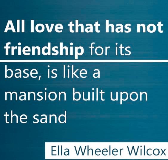 Friendship Love Quote Mansion