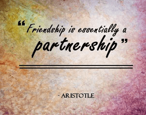 Friendship Partnership Quote