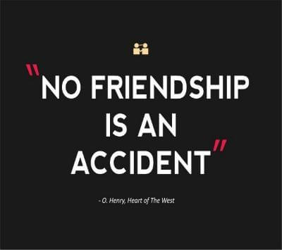 Friendship Quote Accident